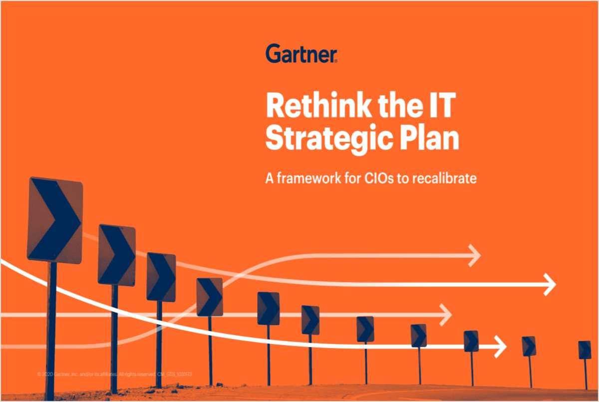 Rethink the IT Strategic Plan