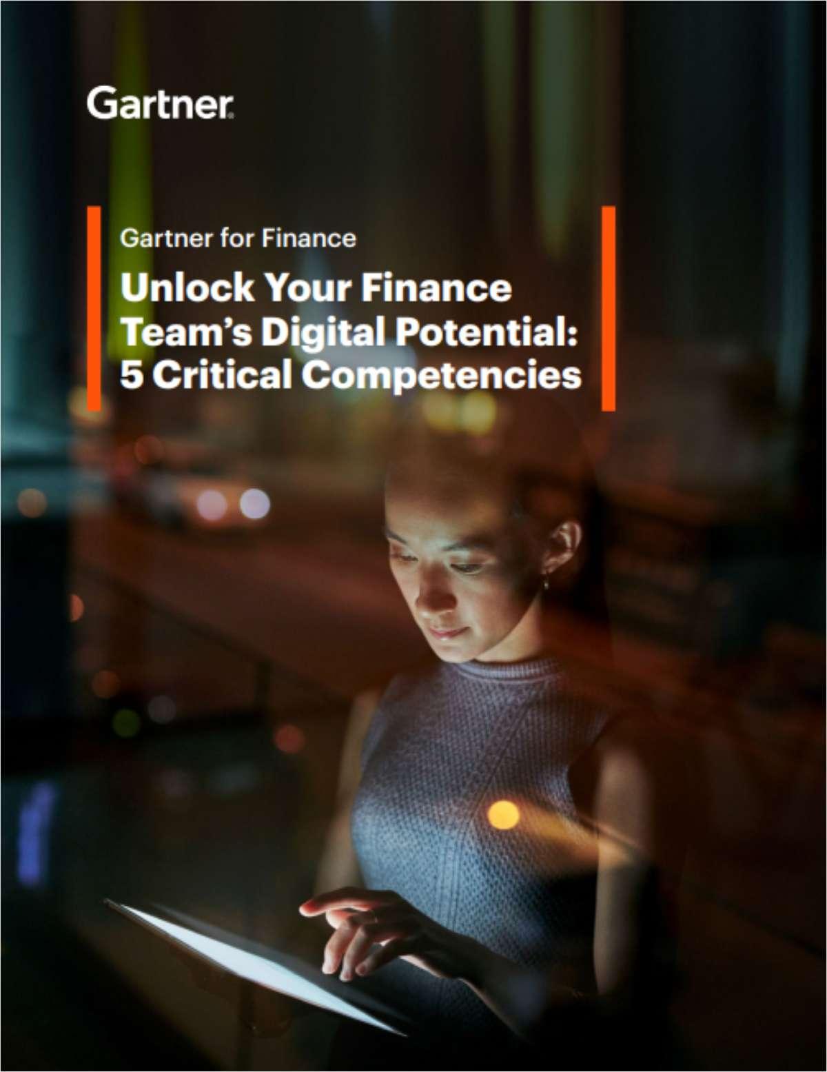 Unlock Your Finance Team's Digital Potential