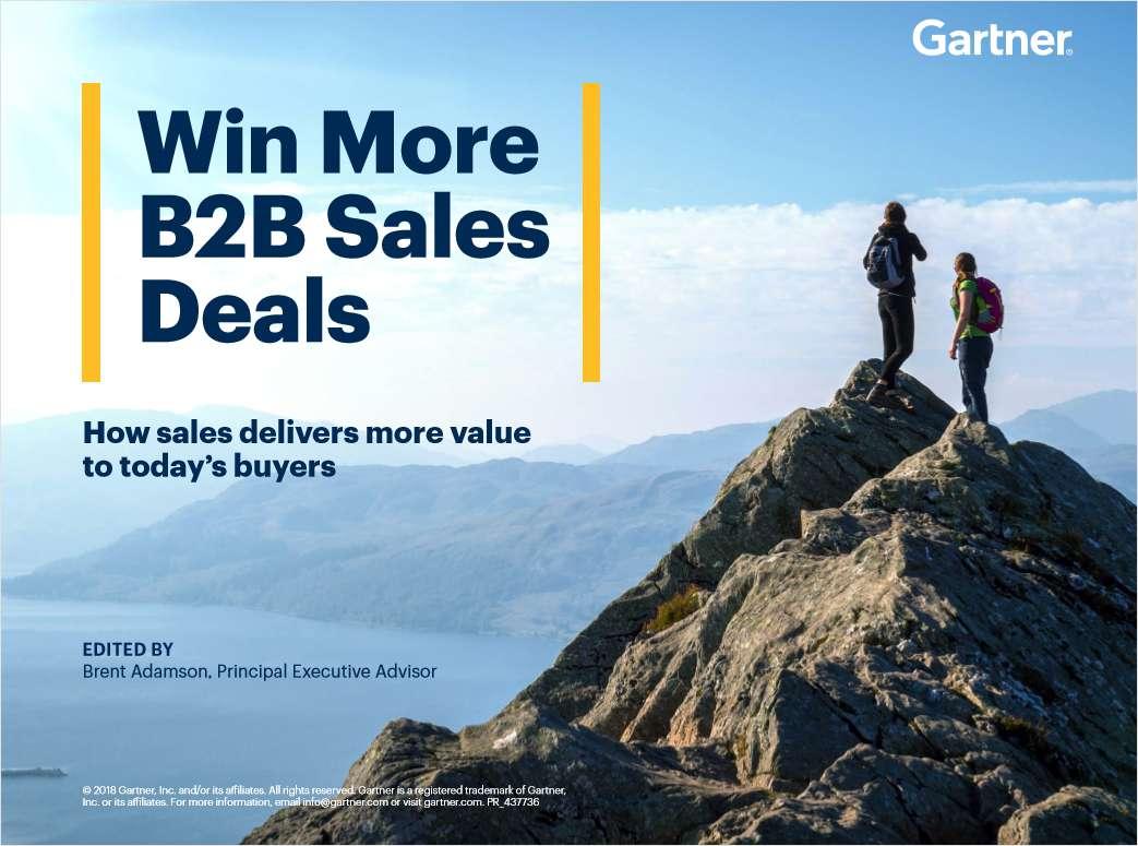 Win More B2B Sales Deals