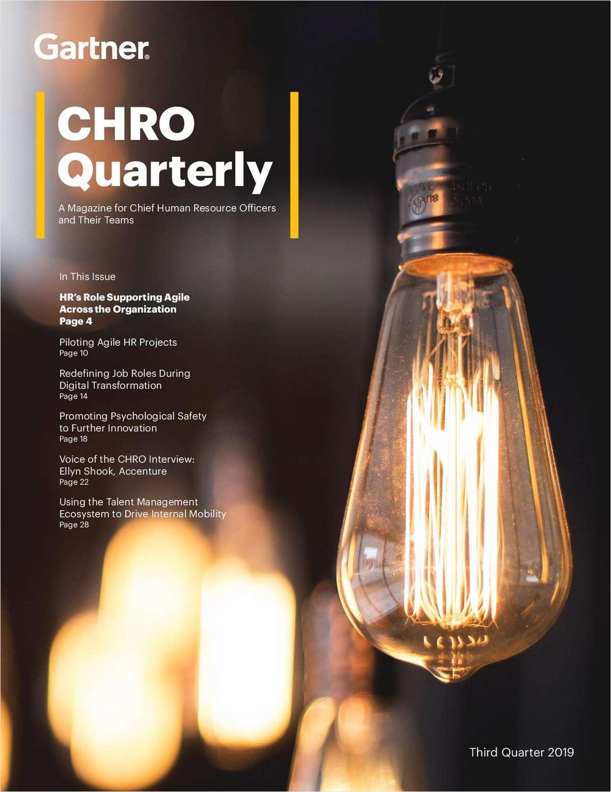 CHRO Quarterly - Implementing Innovation
