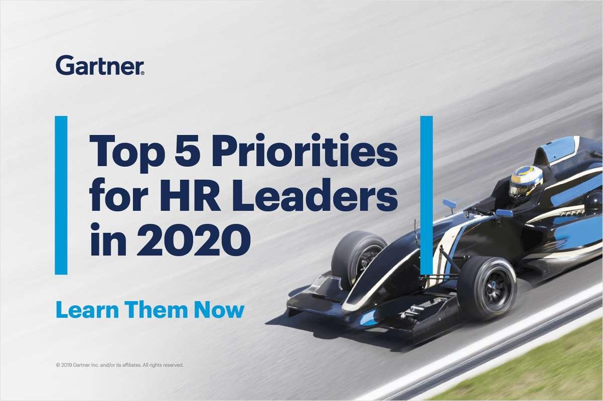 Top 5 Priorities for HR Leaders in 2020
