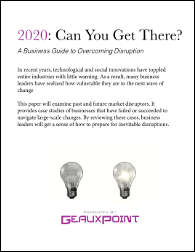 2020: Can you get there? A Business Guide for Overcoming Disruption