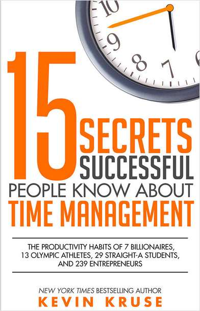 15 Secrets Successful People Know About Time Management -- Summarized by GetAbstract