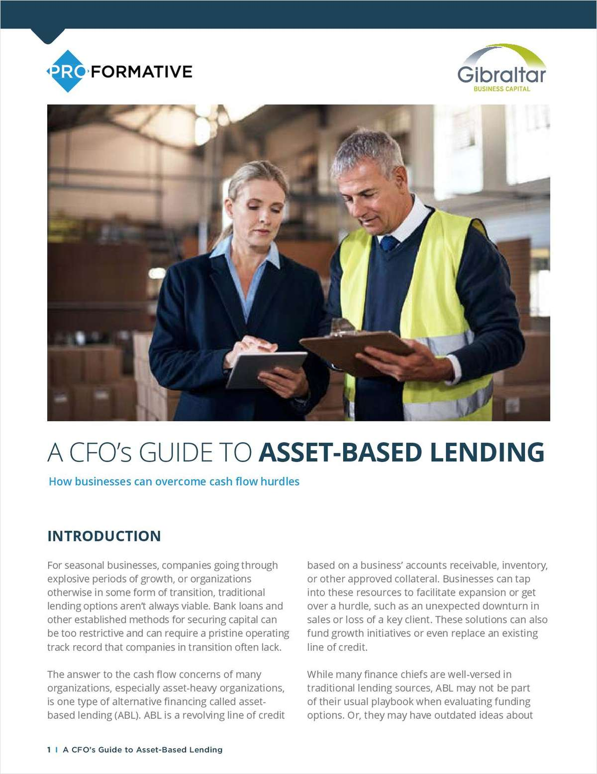 A CFO's GUIDE TO ASSET-BASED LENDING