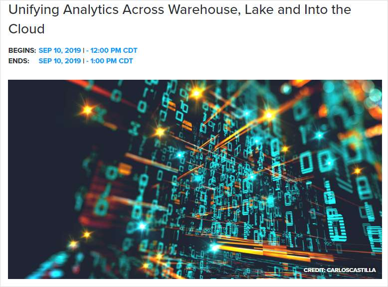 Unifying Analytics Across Warehouse, Lake and Into the Cloud