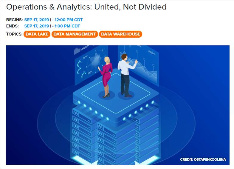 Operations & Analytics: United, Not Divided