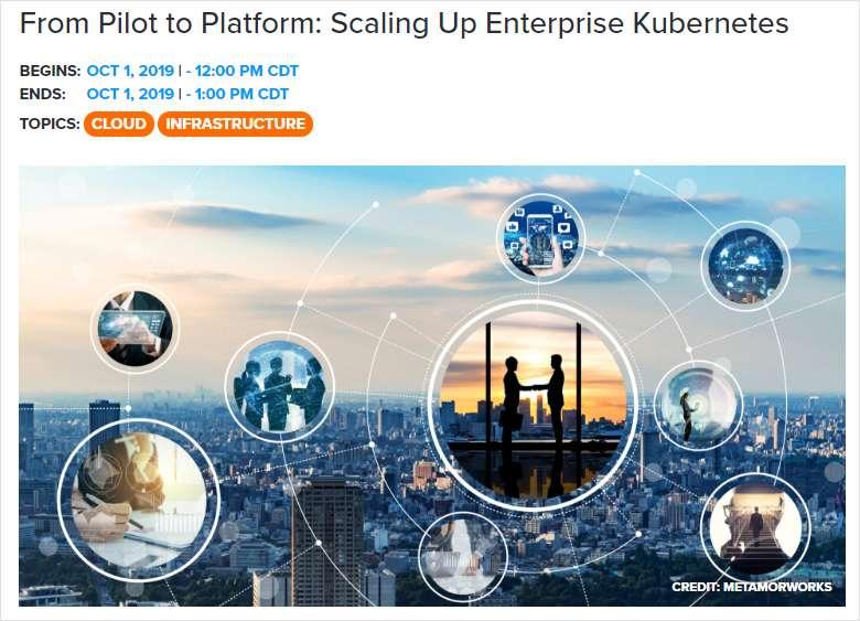 From Pilot to Platform: Scaling Up Enterprise Kubernetes