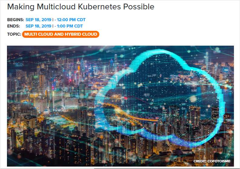 Making Multicloud Kubernetes Possible