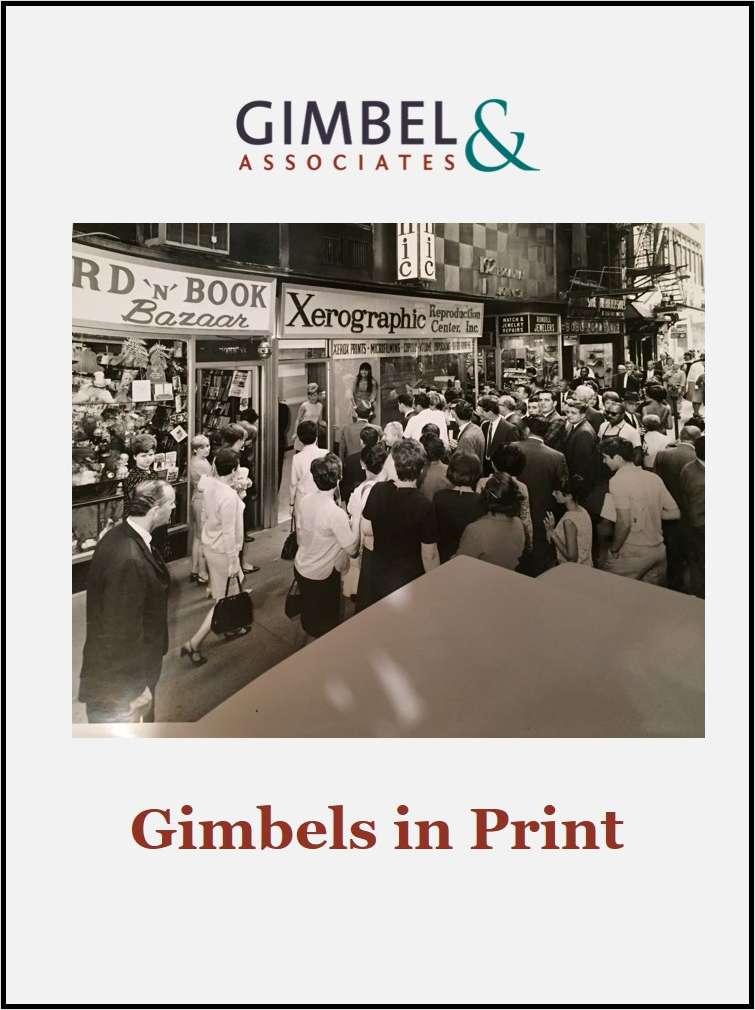 Gimbels in Print