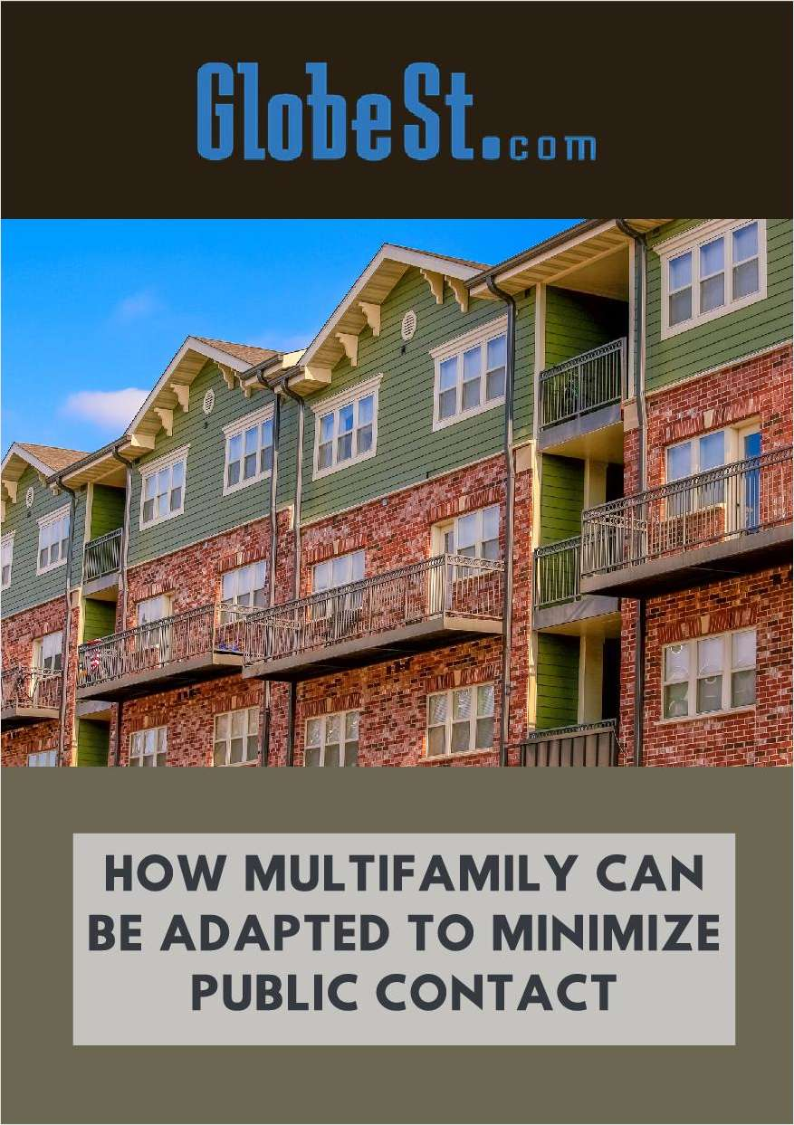 How Multifamily Can be Adapted to Minimize Public Contact
