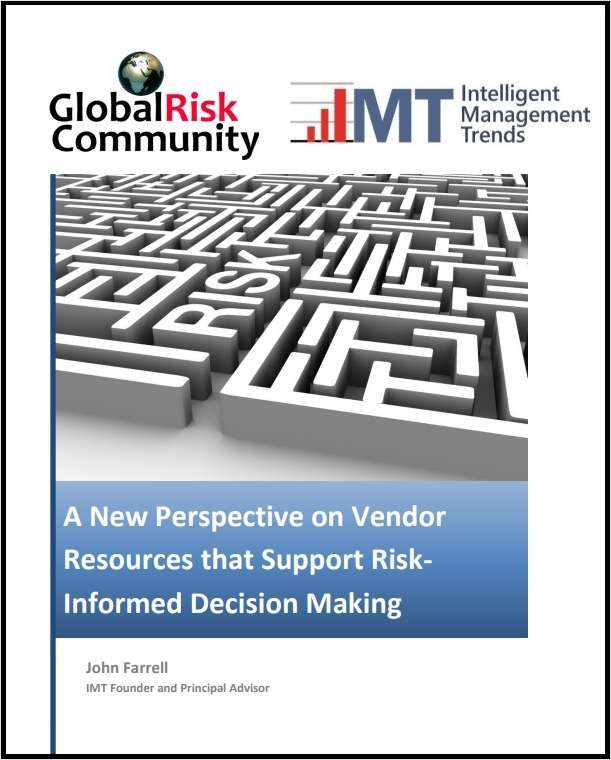 A New Perspective on Vendor Resources that Support Risk-Informed Decision Making