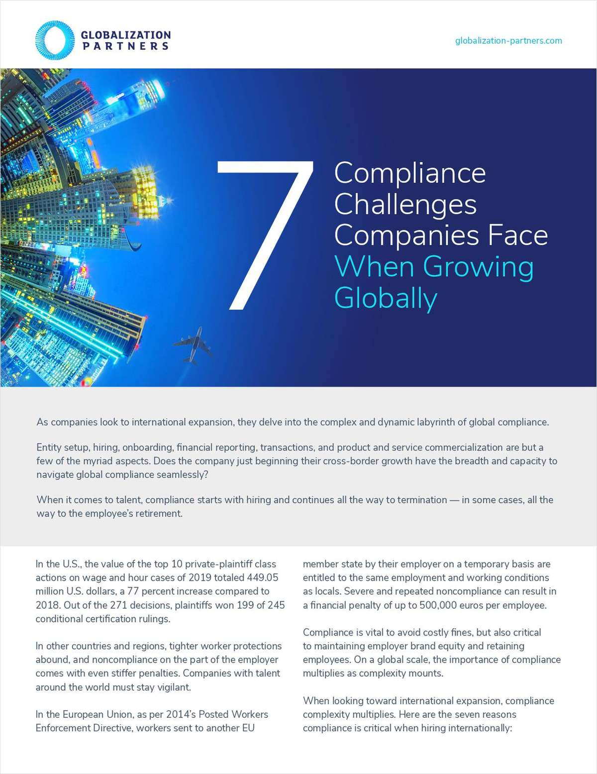 7 Compliance Challenges Companies Face When Growing Globally