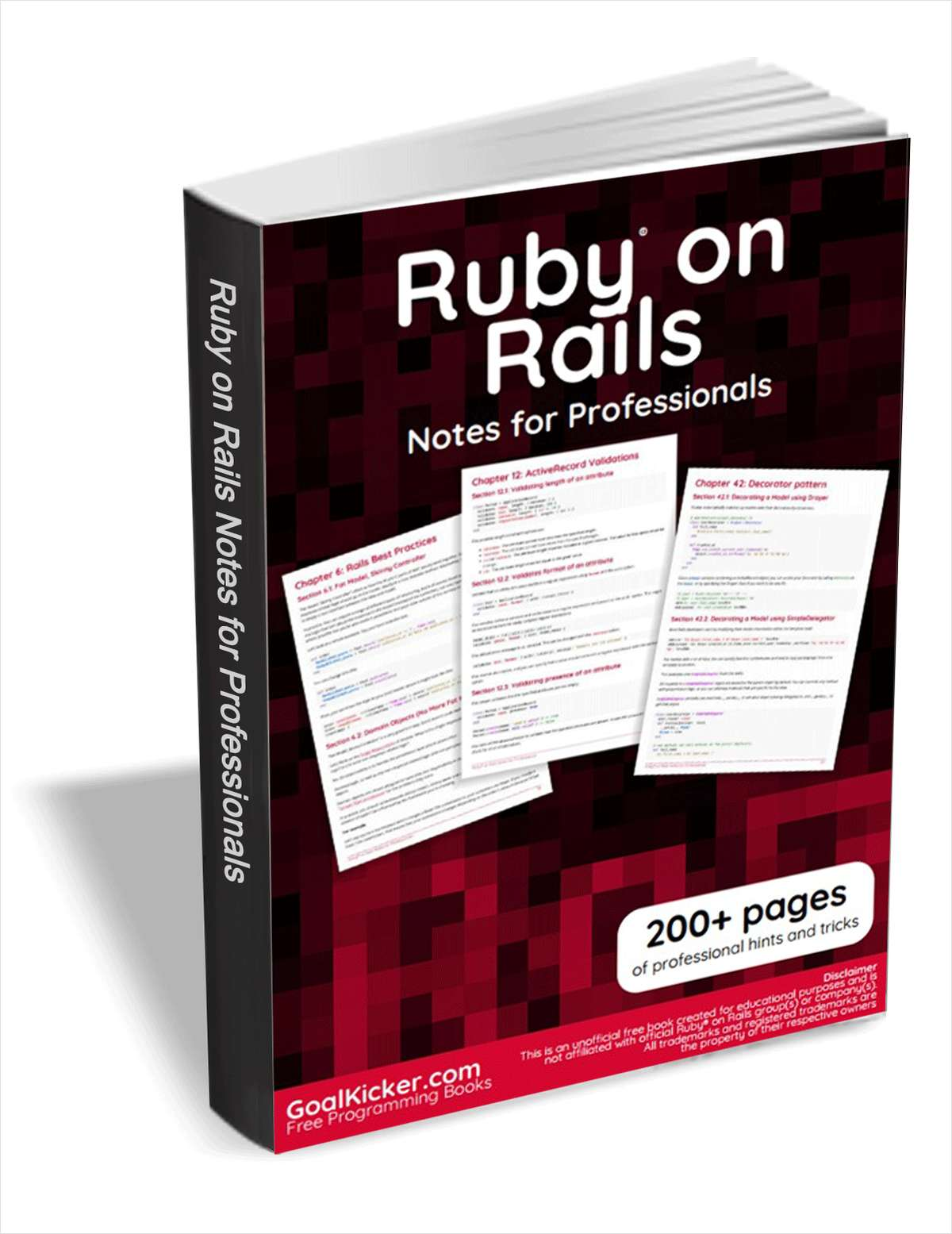 Ruby on Rails Notes for Professionals