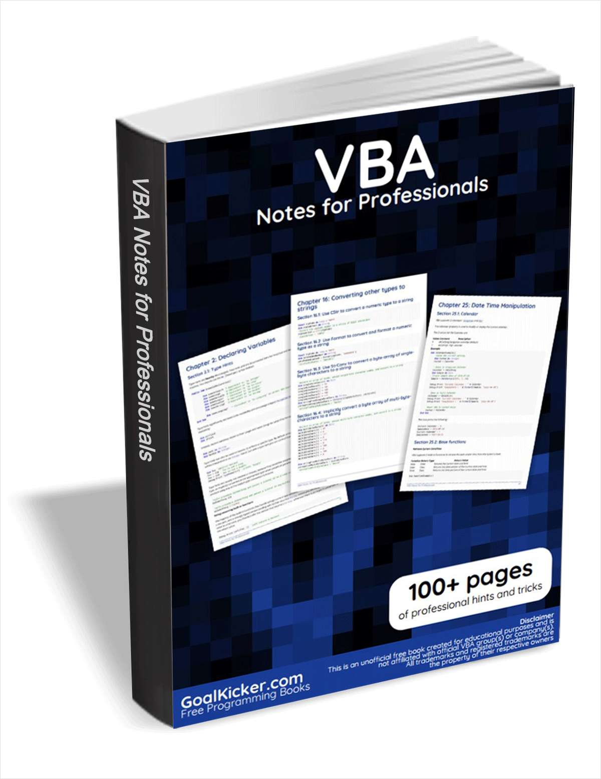 VBA Notes for Professionals