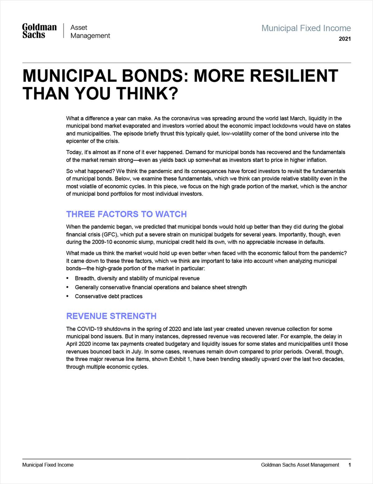 Municipal Bonds: More Resilient Than You Think?