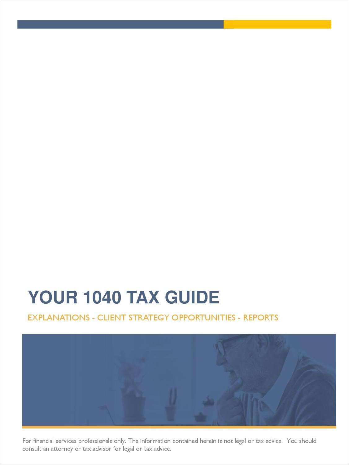 Your 1040 Tax Guide Cheat Sheet