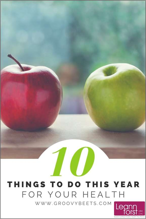 10 Things to Do This Year for Your Health