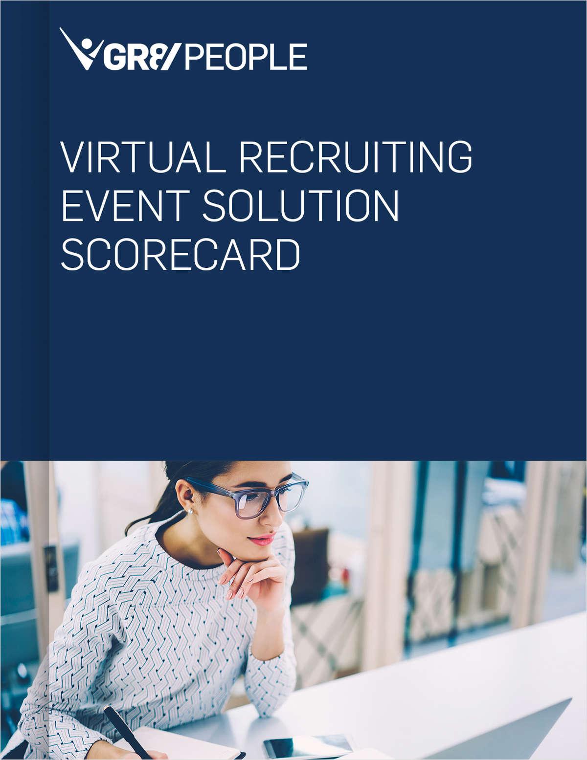 Virtual Recruiting Event Solution Scorecard