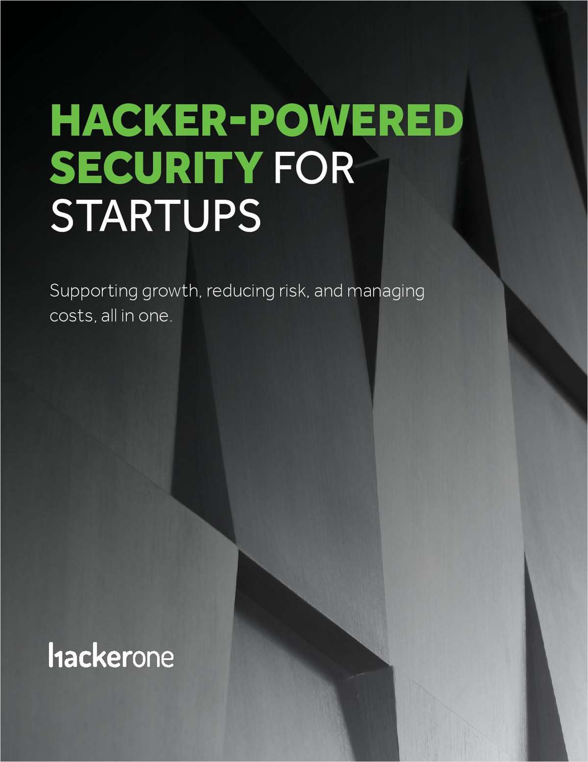 Hacker-Powered Security for Startups, Free HackerOne eBook