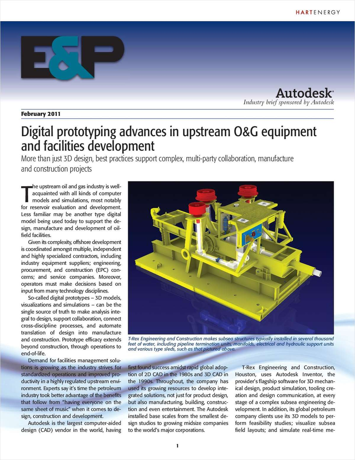Best practices in upstream O&G equipment and facilities development