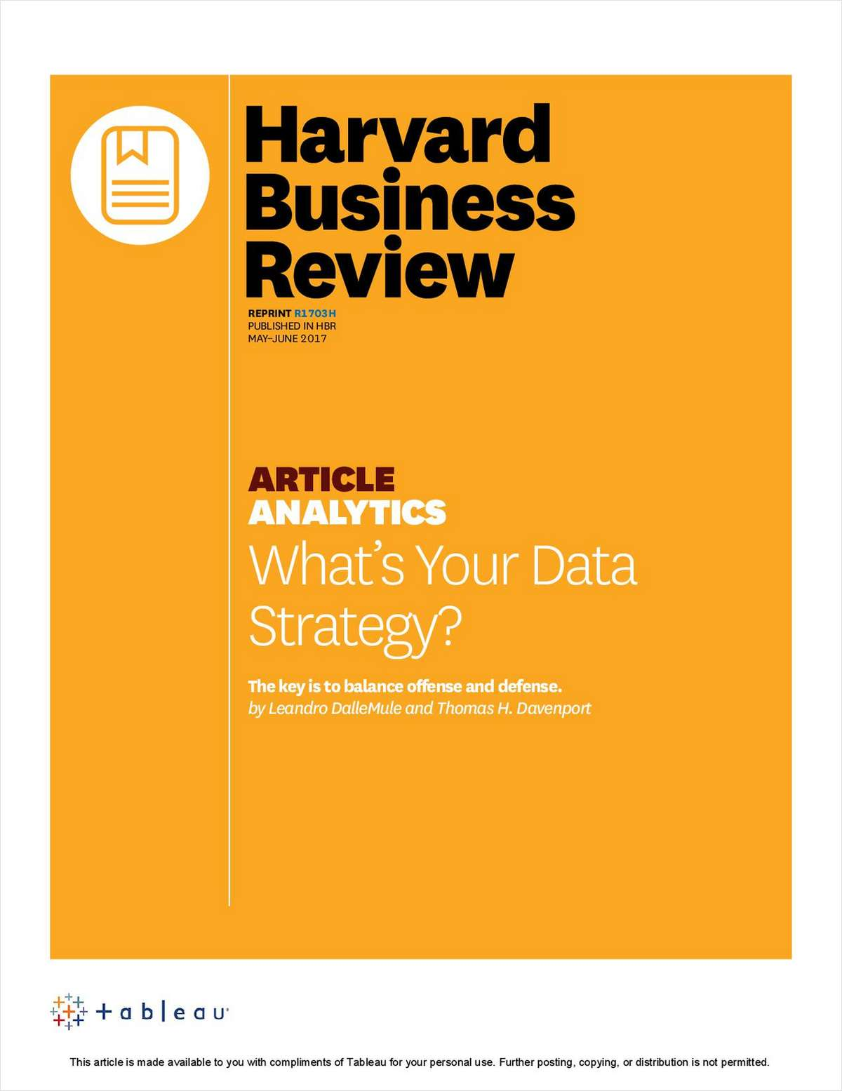 What's Your Data Strategy