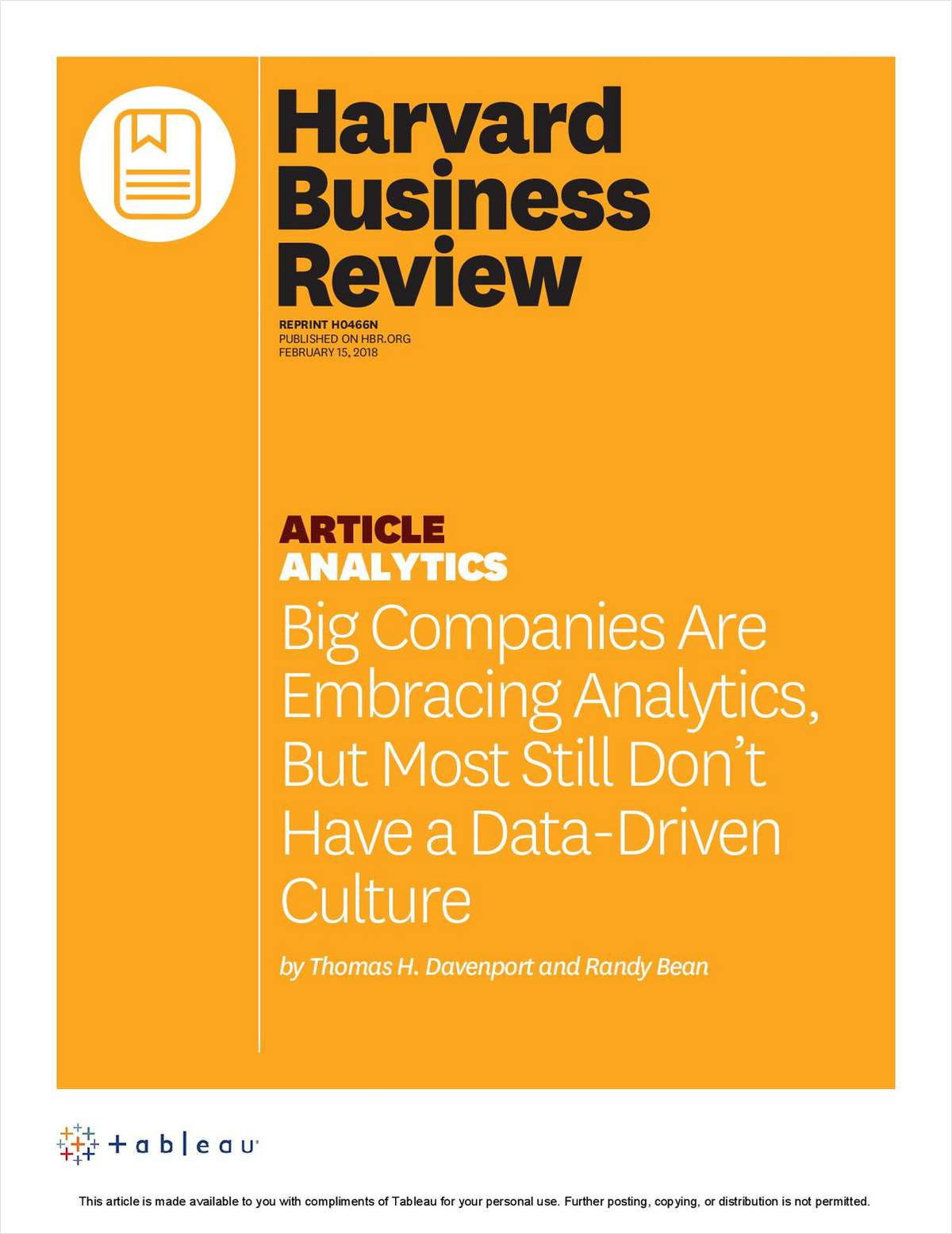 Big Companies Are Embracing Analytics, But Most Still Don't Have a Data-Driven Culture