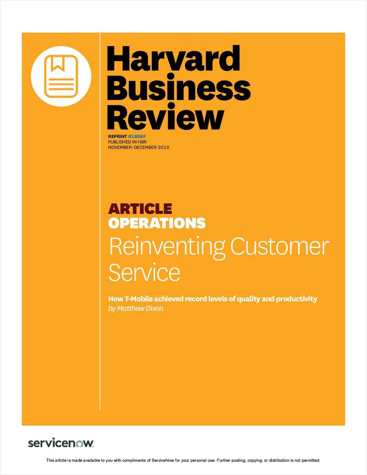 Reinventing Customer Service