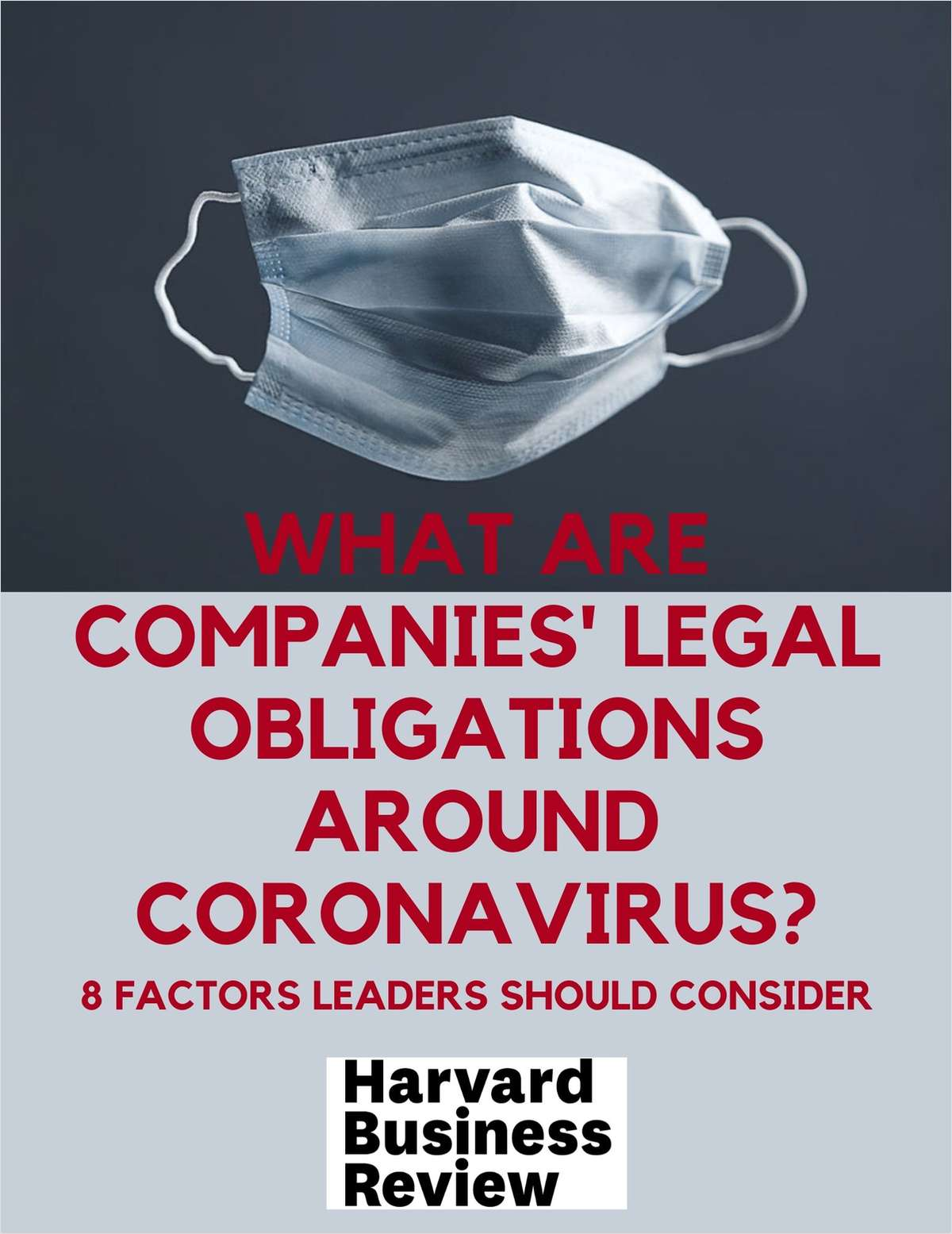 What Are Companies' Legal Obligations Around Coronavirus?
