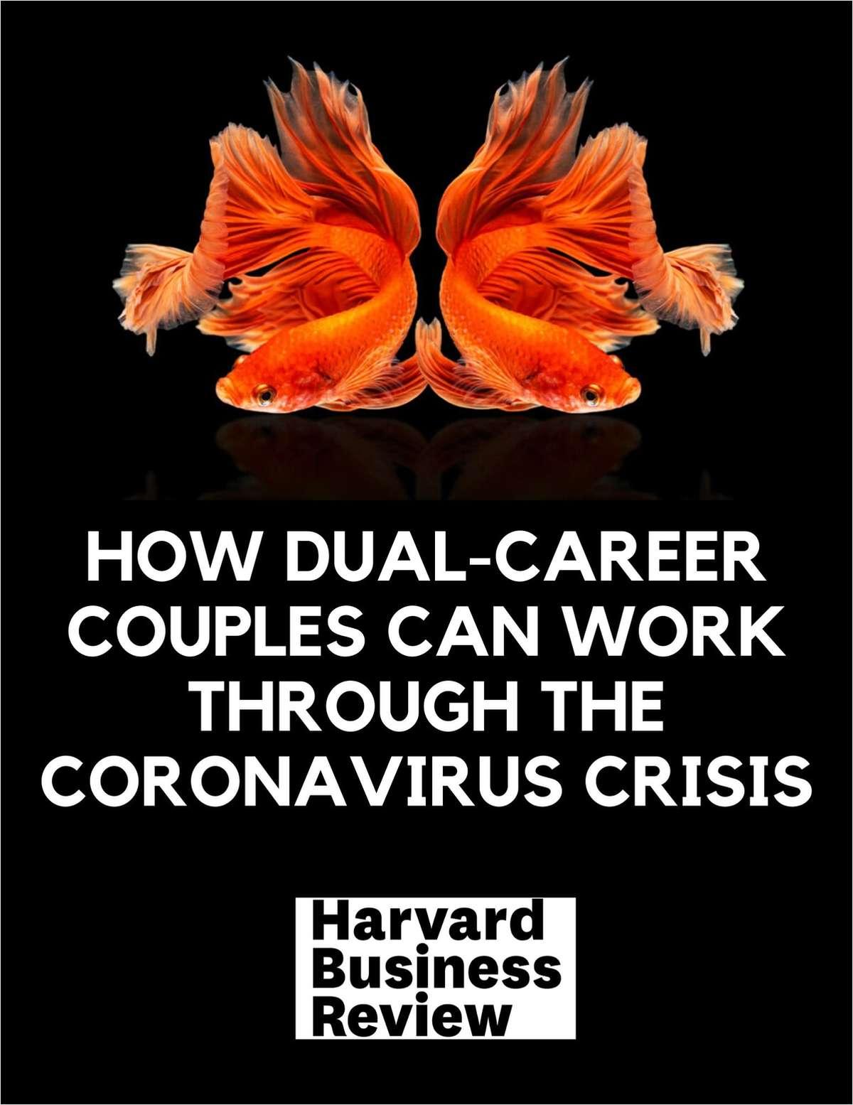 How Dual-Career Couples Can Work Through the Coronavirus Crisis