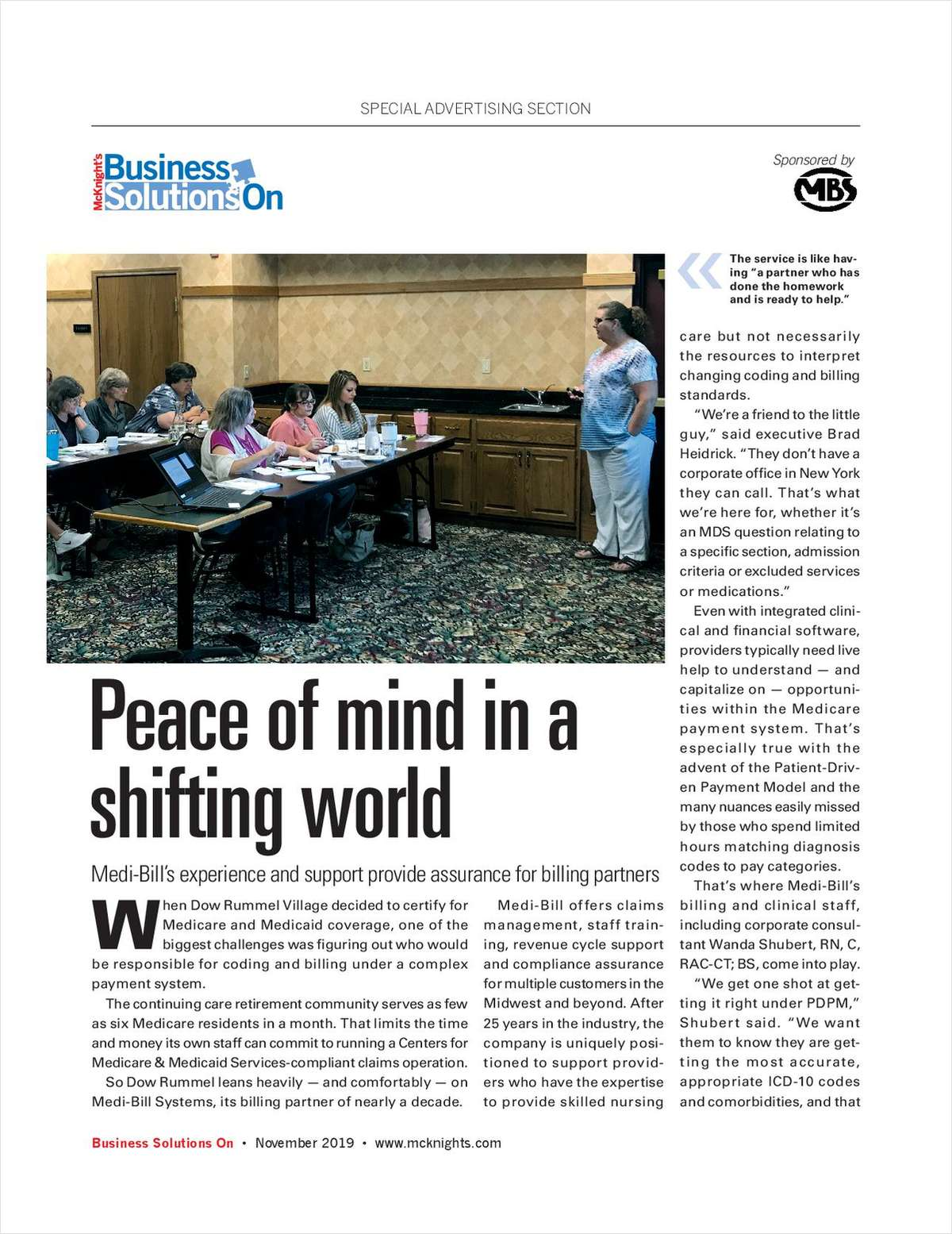 Peace of Mind in a Shifting World