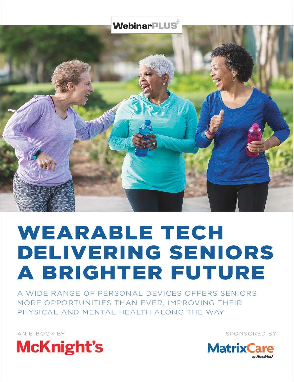 Wearable Tech Delivering Seniors a Brighter Future
