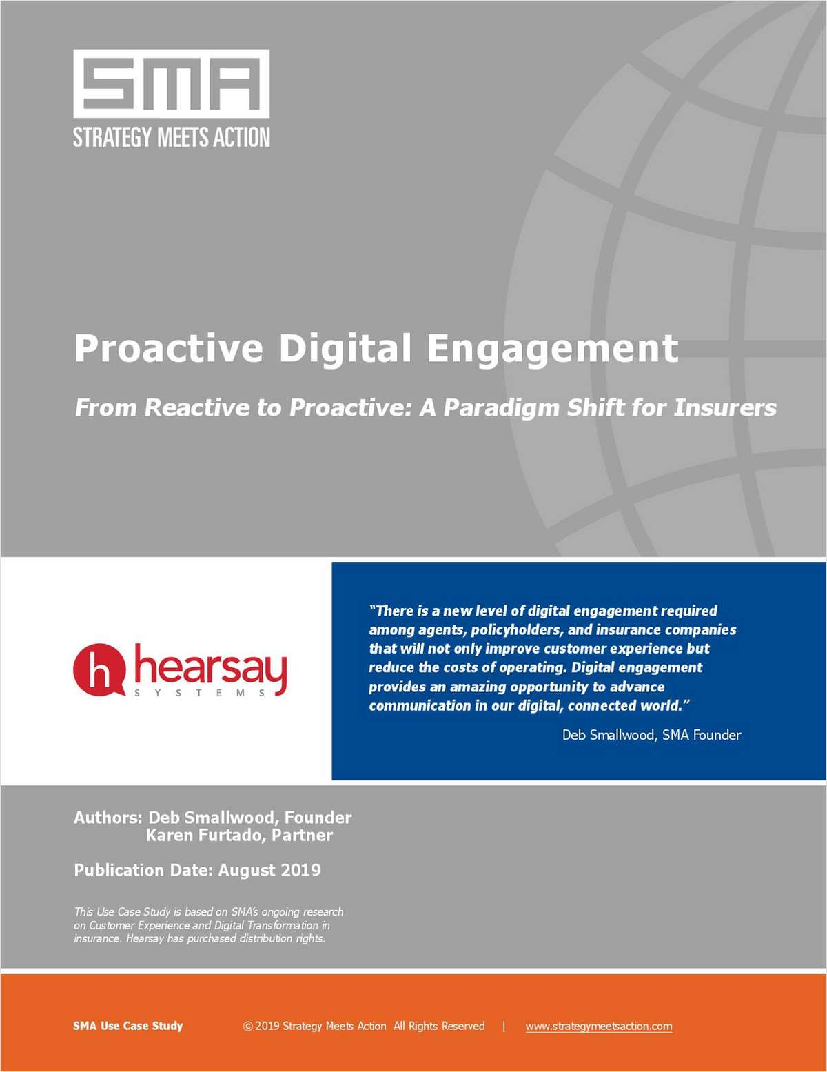 Proactive Digital Engagement -- From Reactive to Proactive: A Paradigm Shift for Insurers