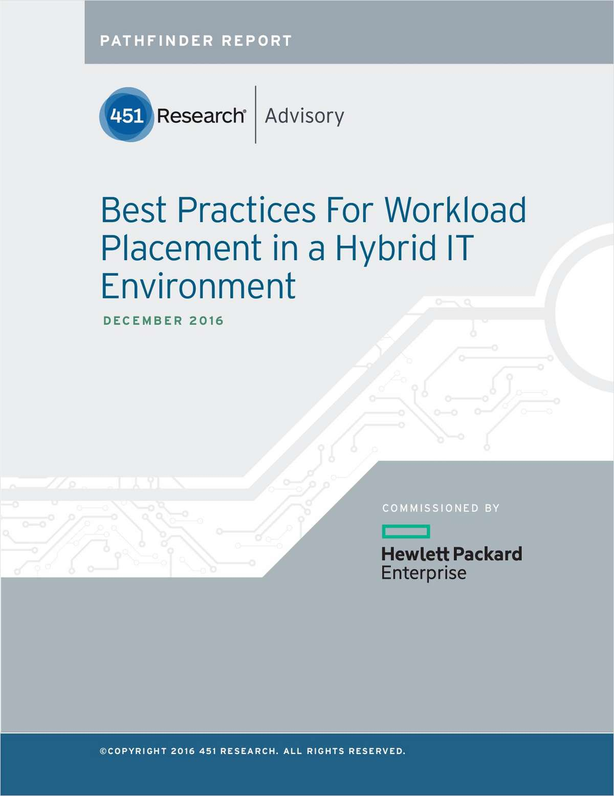 Hybrid IT: Best Practices for Workload Placement