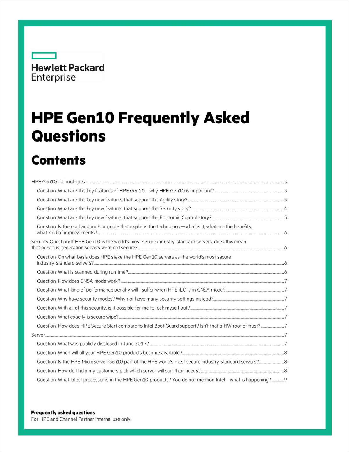 Utilize HPE ProLiant Gen10 to Revamp Your Infrastructure, Free
