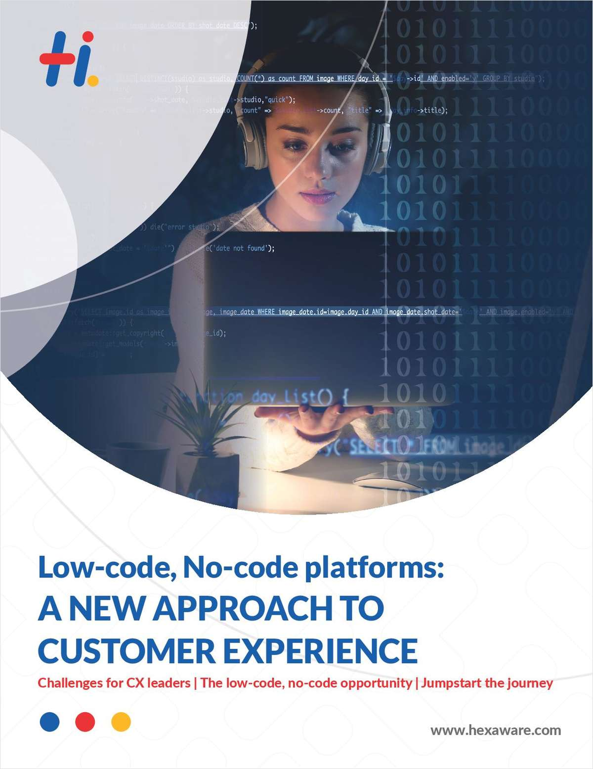 Low-code, No-code platforms: A New approach to Customer Experience