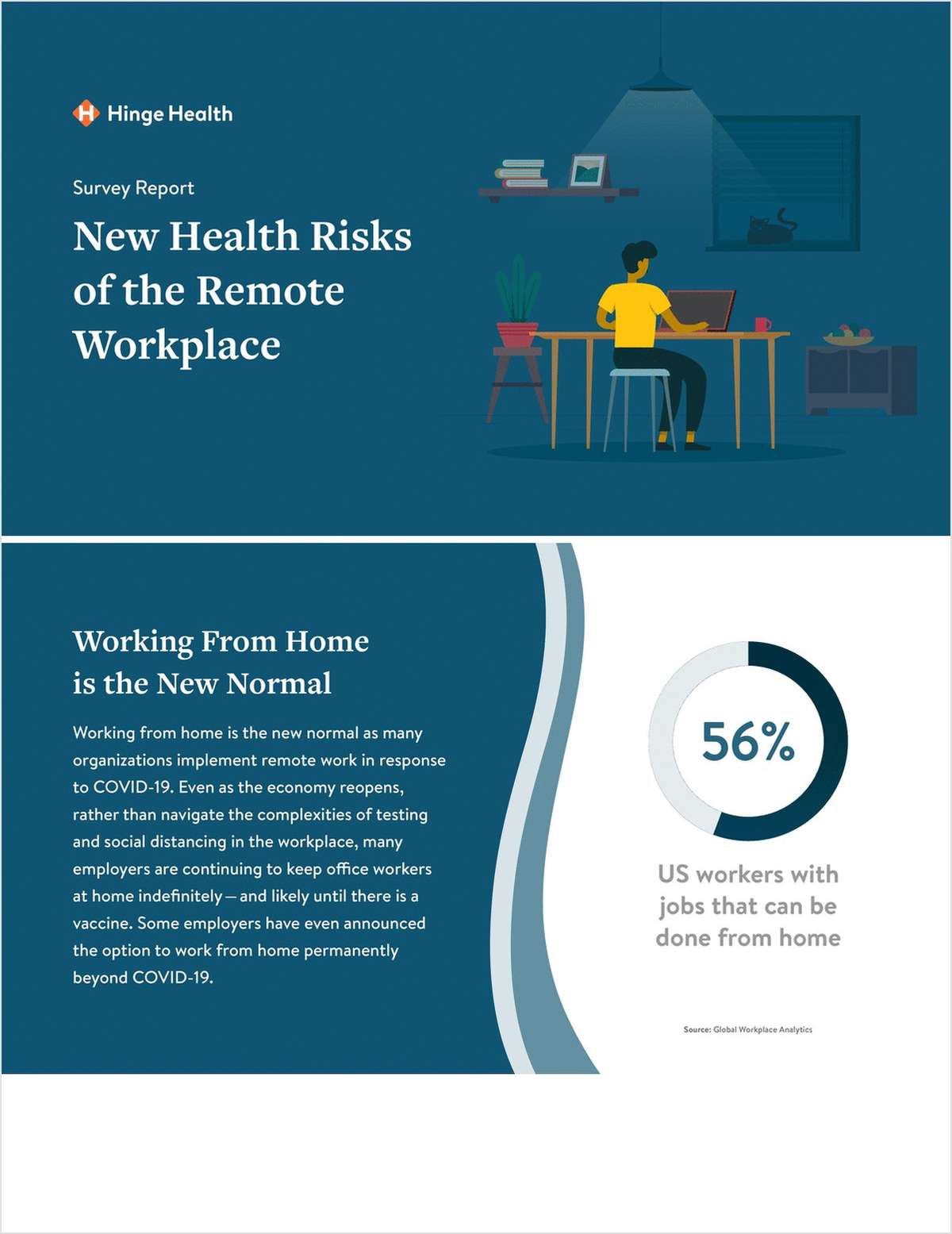 Survey Report: New Health Risks of the Remote Workplace