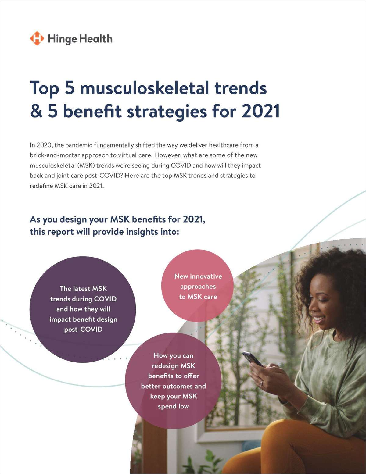 5 Musculoskeletal Trends & 5 Benefit Strategies for Your Company in 2021