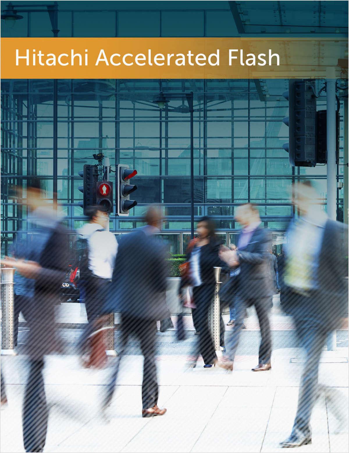Hitachi Accelerated Flash : une approche innovante du stockage SSD