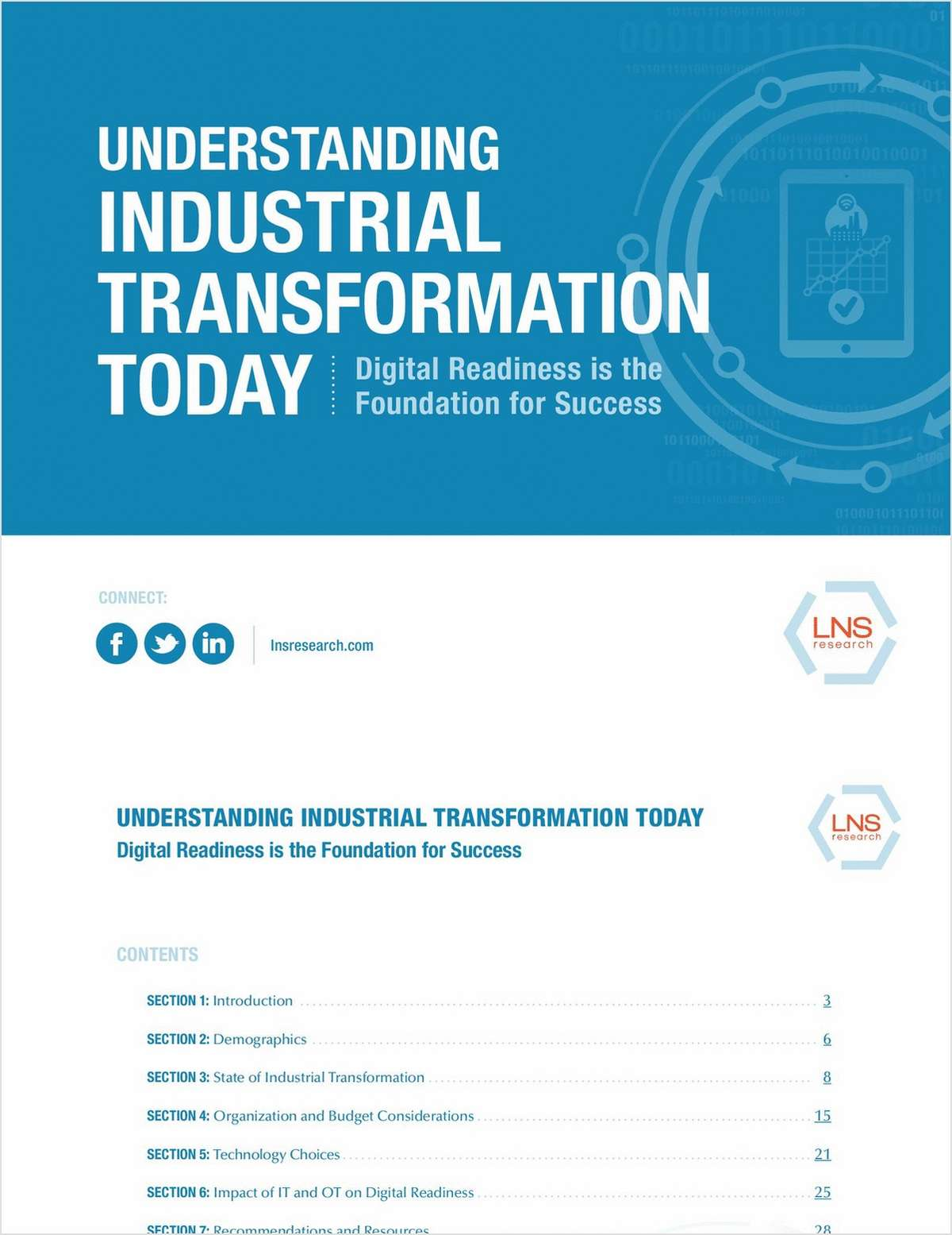 Understanding the Industrial Transformation Today
