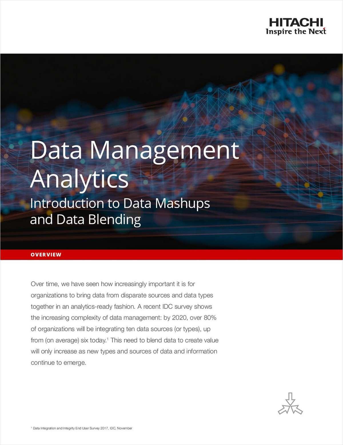 Data Management Analytics