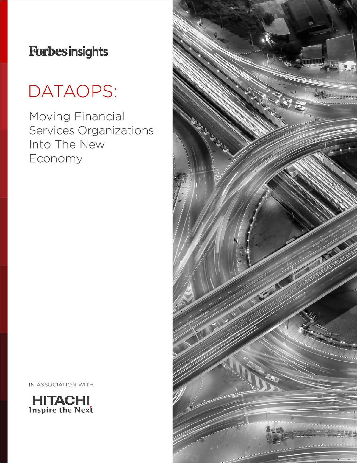 DataOps: Moving Financial Services Organizations Into The New Economy