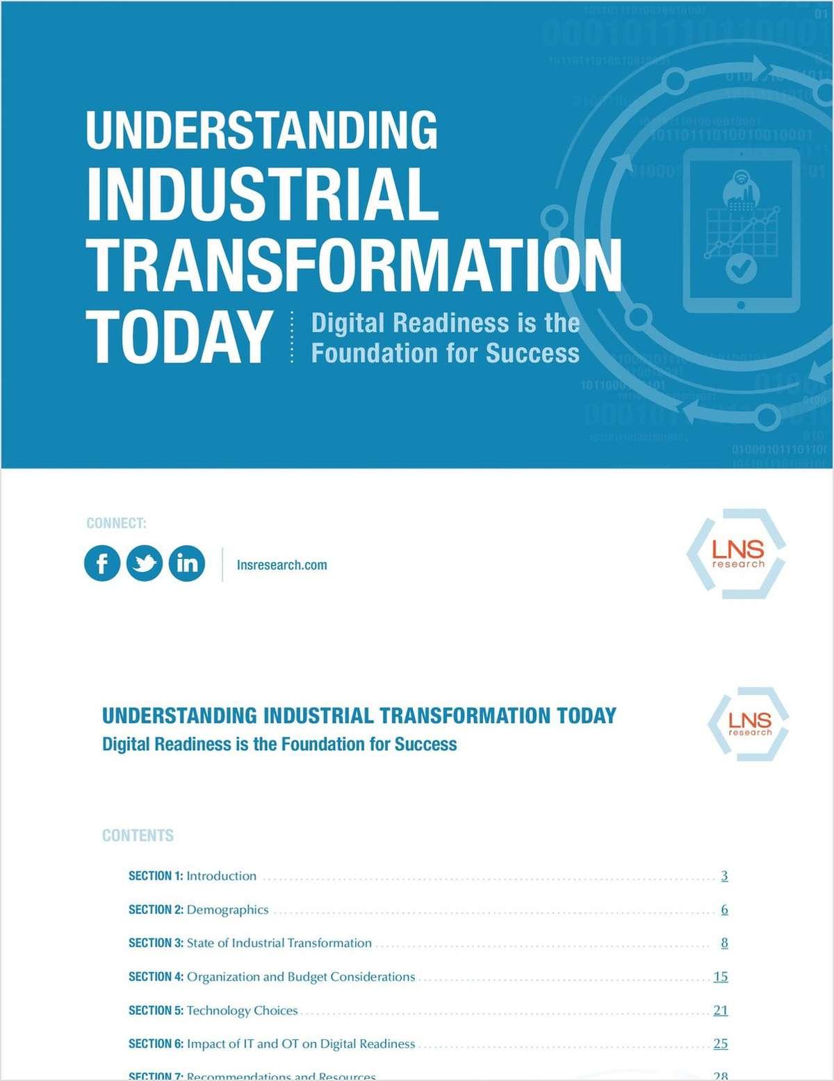 Understanding the Industrial Transformation Today