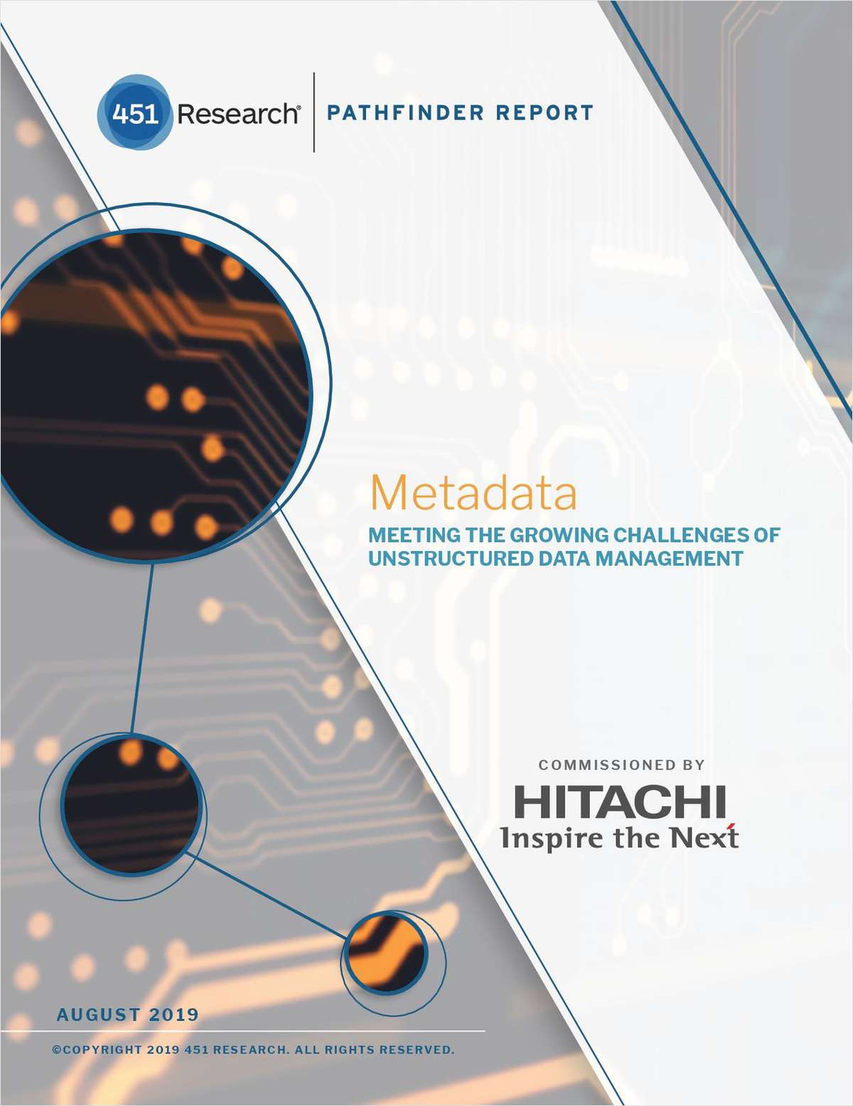 METADATA:  Meeting the Growing Challenges of Unstructured Data Management