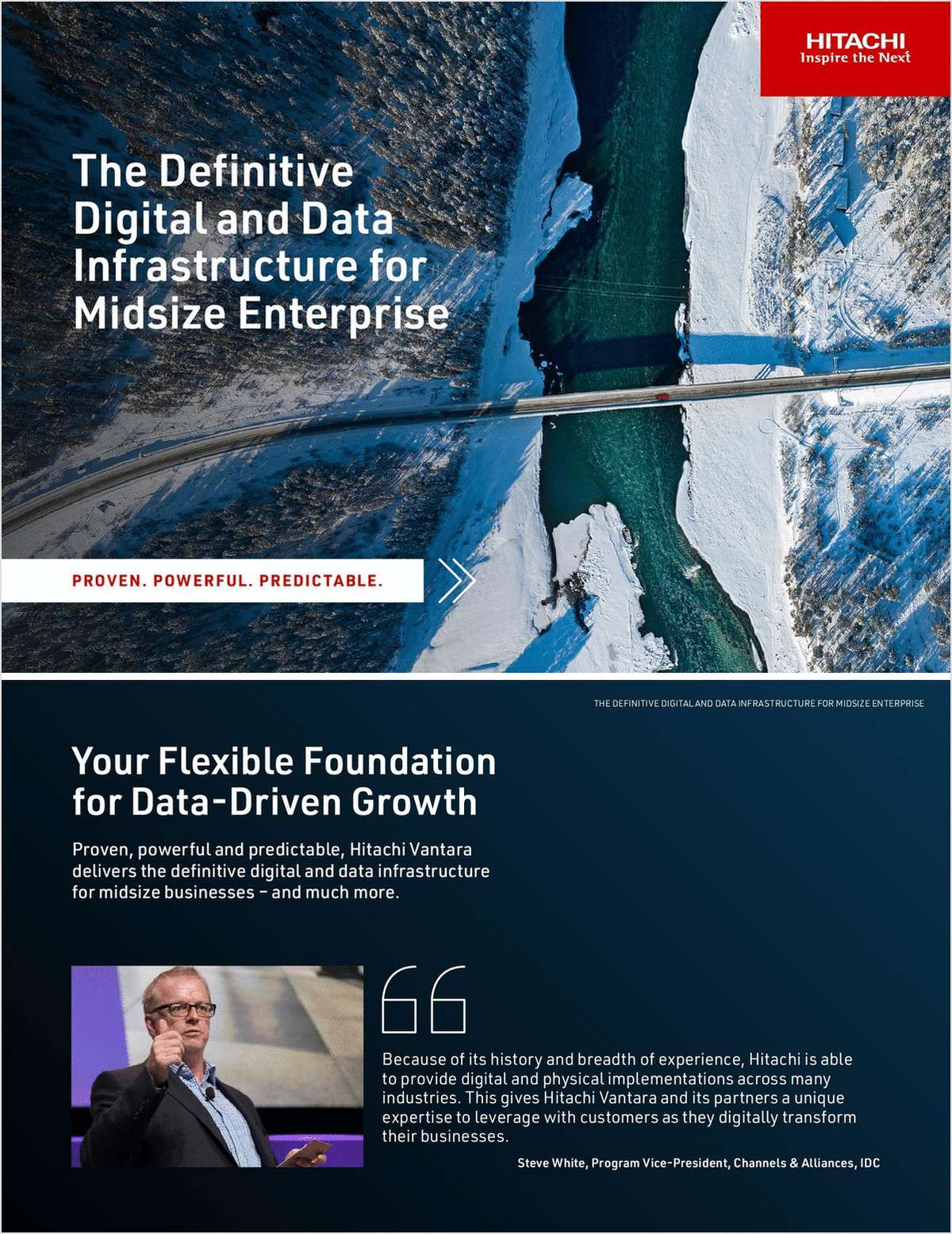 The Definitive Digital and Data Infrastructure for Midsize Enterprise