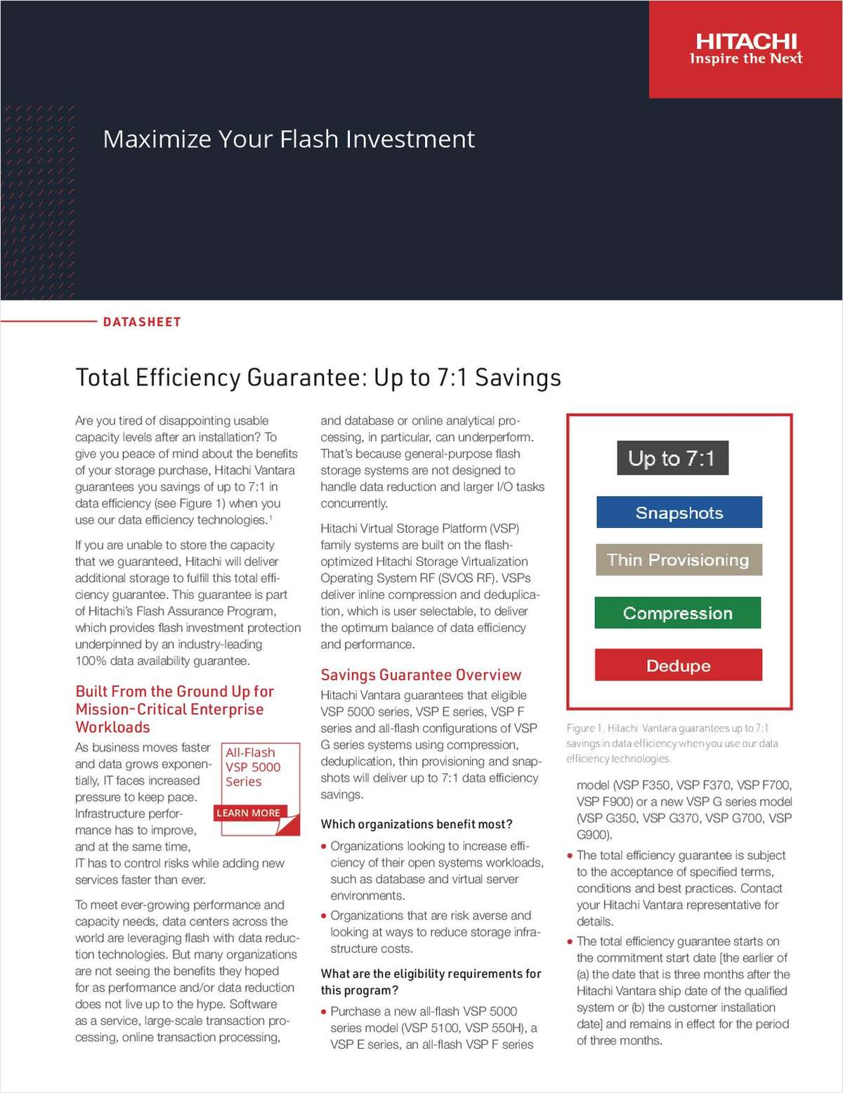 Maximize Your Flash Investment