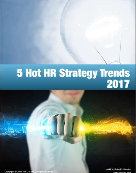 5 Hot HR Strategy Trends 2017