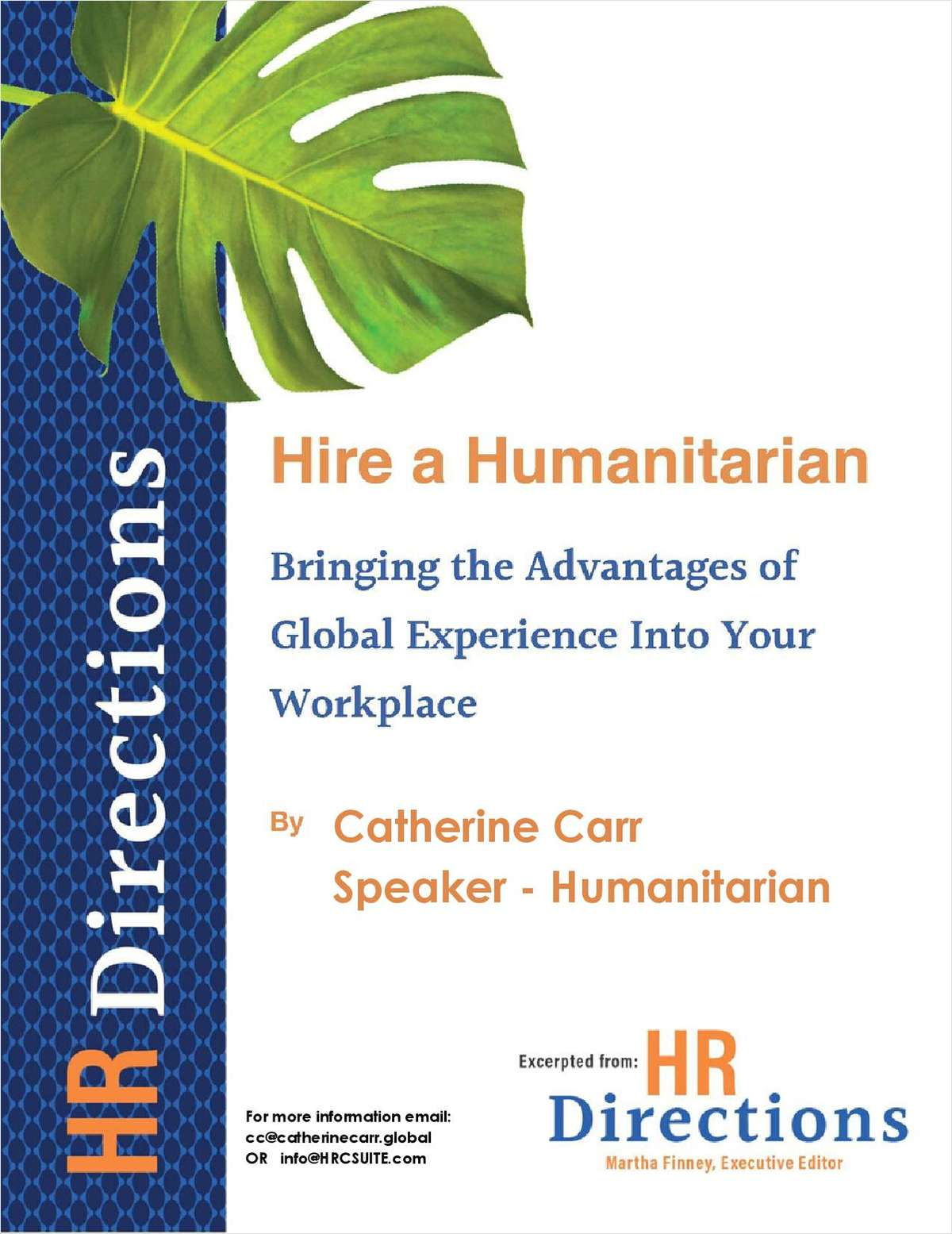 Hire a Humanitarian- HR Directions