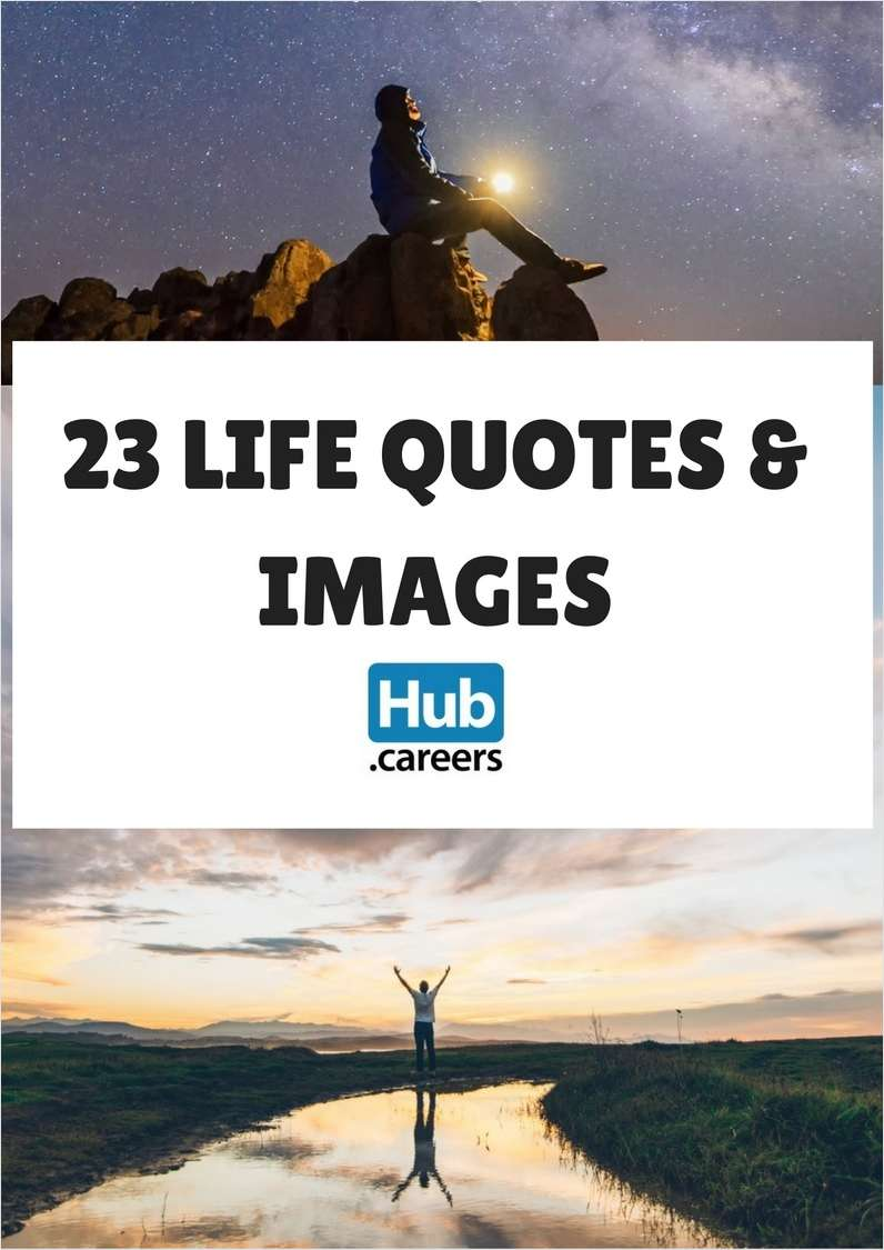 23 Life Quotes & Images
