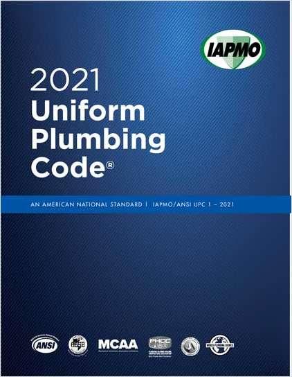 Read Uniform Plumbing Code for Free