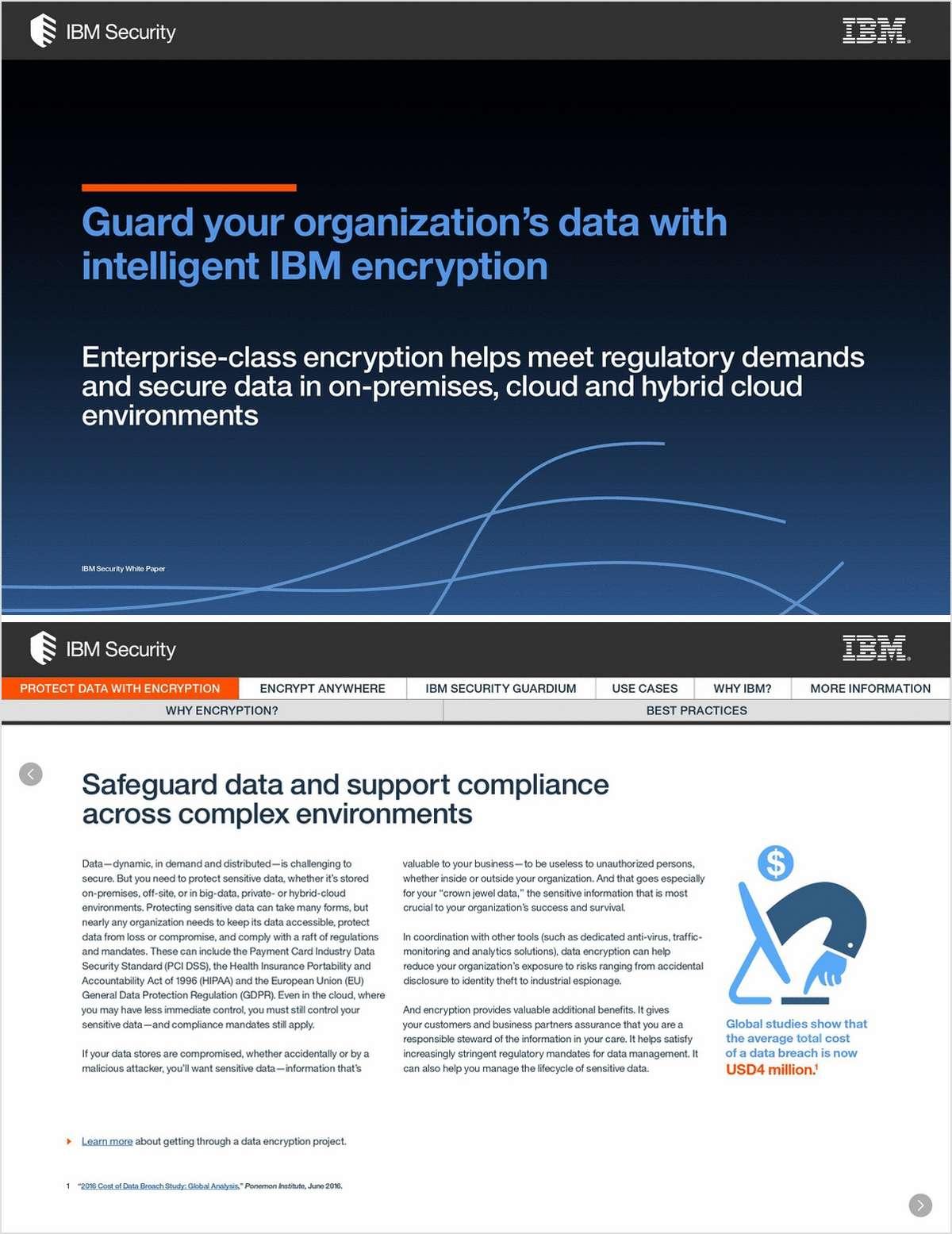 Guard Your Organization's Data with Intelligent IBM Encryption